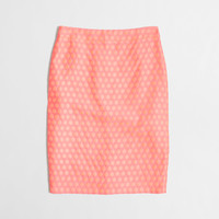 Factory pencil skirt in polka dot : pencil | J.Crew Factory