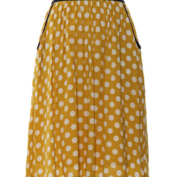 Polka Dots Swing Skirt
