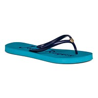 Women's Tessa Flip Flop Sandal in Caribbean Blue and Midnight by Jack Rogers