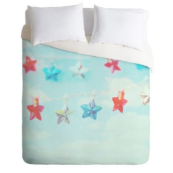 Lisa Argyropoulos Oh My Stars Duvet Cover