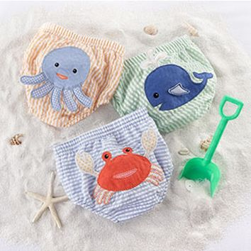 Beach Bums - 3-Piece Diaper Cover Gift Set by Baby Aspen - Available in 0-6 & 6-12