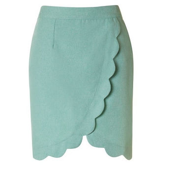 Scallop Skirt