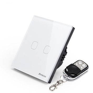 SESOO Smart Touch Screen Light Switch 1-gang 1-way  -  WHITE