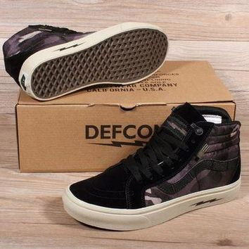 VOND4H VANS SK8 PRO DEFCON Men Women Sneaker Color Black