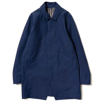 Partition AR Coat Navy Blue