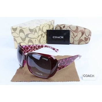COACH Women Casual Sun Shades Eyeglasses Glasses