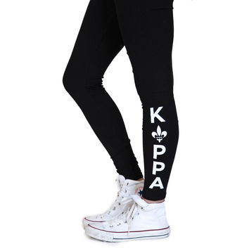 Kappa Kappa Gamma Kick It Leggings