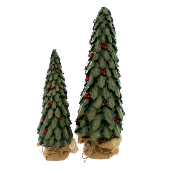 Christmas Zwei Christbaum Christmas Decor