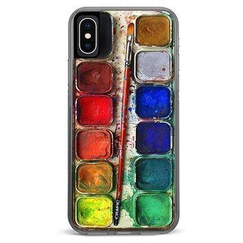 Watercolor Set iPhone XR case