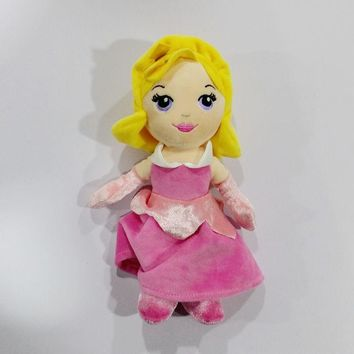 Original Rare Sleeping Beauty Q Aurora Princess Briar Rose Stuff Plush Toy Doll Baby Girl Birthday Gift