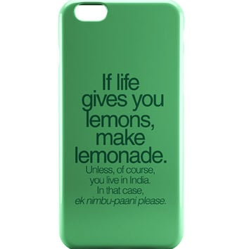 When Life Gives You Lemons Funny Quote iPhone 6 | iPhone 6S Case