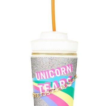Unicorn Tears Rainbow Cross Body Bag by Skinny Dip London