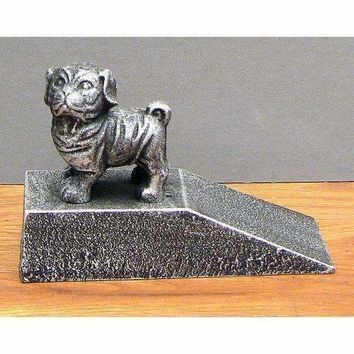 Cast Iron Dog Door Stop
