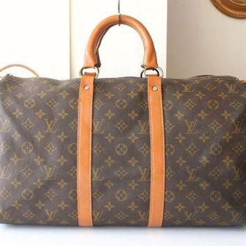 PEAPYD9 Louis Vuitton handbag Keepall 45 Vintage Authentic Bag