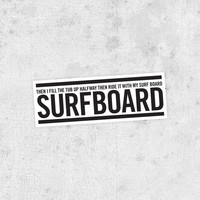 "Beyonce Lyric Sticker! ""Surfboard"" drunk in love, jay-z, Beyoncé Knowles, crazy in love"