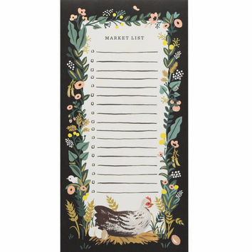 RIFLE PAPER COUNTRY FARM EVERYDAY MARKET PAD