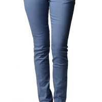 Light Blue Colored Skinny Jeans