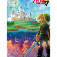 Nintendo The Legend of Zelda: A Link Between Worlds Poster