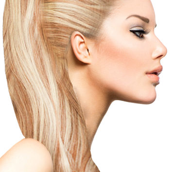 """18"""" Clip In Hair Extensions: No P27-613 Blonde/ Monroe Blonde"""