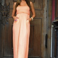 Make Me Wanna Cruise Maxi: Peach | Hope's