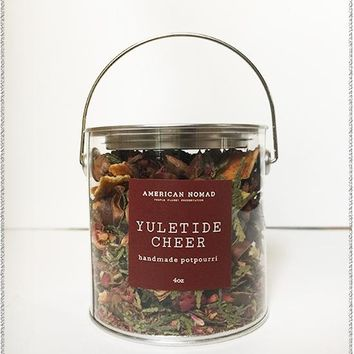 Yuletide Cheer Potpourri Tin