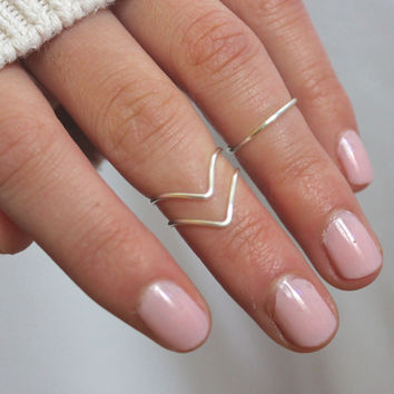 Knuckle Ring Set of 3