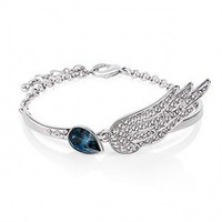 Angel Wing Bracelet - Swarovski Element
