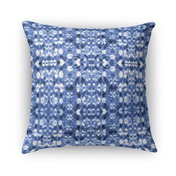 SHIBORI MIRROR Accent Pillow By Becky Bailey