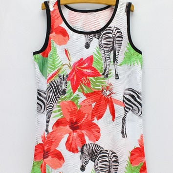 Bralette Comfortable Sexy Hot Beach Summer Floral Stylish Tops Vest [6048795713]
