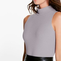 Lily Turtle Neck Rib Knit Bodysuit