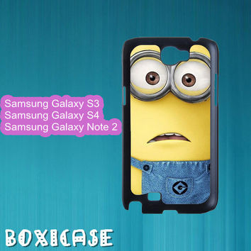 Despicable Me Minion---Samsung Galaxy S3 Case,Samsung Galaxy S4 Case,Samsung Galaxy Note 2 Case,blackberry z10,blackberry q10,in plastic