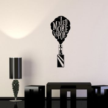 Wall Decal Electronic Hookah Smoke Cigarette Smoking Vinyl Sticker (ed1026)