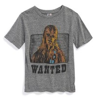 Toddler Boy's Junk Food 'Star Wars - Wanted: Chewbacca' Graphic T-Shirt,