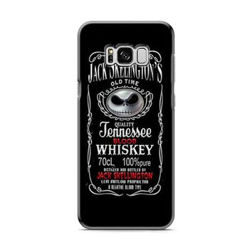 Jack Skellington Whiskey Daniels Samsung Galaxy S8 | Galaxy S8 Plus Case