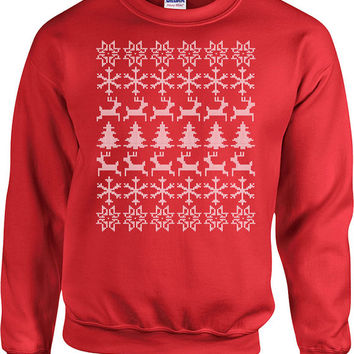 Ugly Christmas Sweaters Christmas Hoodie Sweater Merry Christmas Gifts Holiday Gifts Christmas Presents Holiday Tops Xmas GIfts - SA522