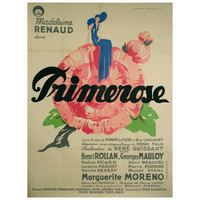 French Art Deco Period Movie Poster by Jean Mercier