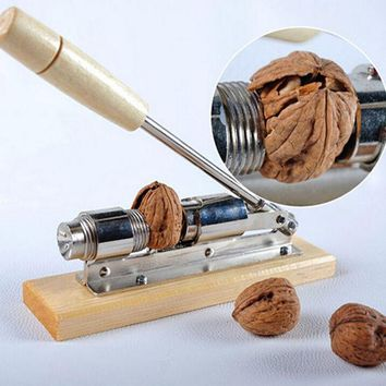 DCCKJG2 High quality mechanical sheller walnut nutcracker nut cracker fast Opener Kitchen Tools fruits and vegetables