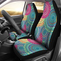 Bohemian Mandala Car Seat Covers