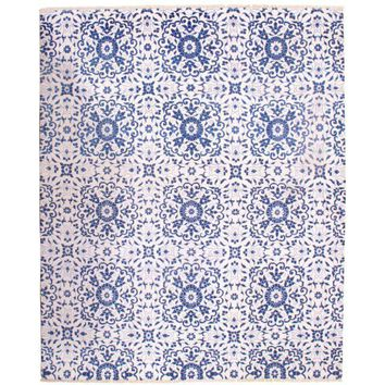 """Pasargad NY Indo Modern Bambo Silk Hand-Knotted Rug - 8' x 9'10"""""""
