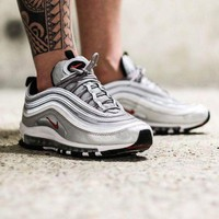 DCCKLO8 Nike Air Max 97 'Silver Bullet' Shoes