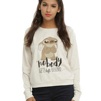 Disney Lilo & Stitch Nobody Gets Left Behind Girls Pullover Top