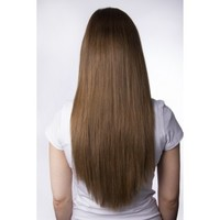 Princess Deluxe Hair - Light Brown - Color 8 - Luxury For Princess - Clip-In Hair Extensions