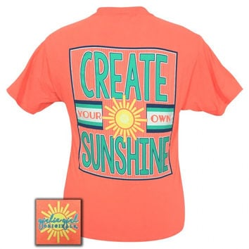 Girlie Girl Originals Preppy Create your own sunshine T-Shirt