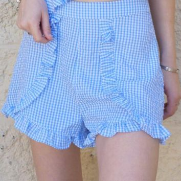 """Gingham Check"" Shorts"