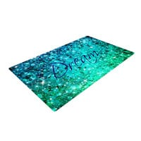 "Ebi Emporium ""Dream"" Blue Teal Woven Area Rug"