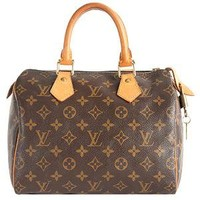 Louis Vuitton Monogram Canvas Speedy 25 Satchel | Louis Vuitton Handbags - Bag Borrow or Steal