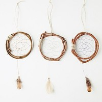 Catherine Womens Mini Wood Dreamcatcher