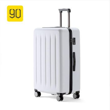 "Xiaomi 90FUN 24""28""PC Rolling Luggage with Lock Spinner Business Trip Lightweight High Strength Carry On Suitcase Travel Luggage"
