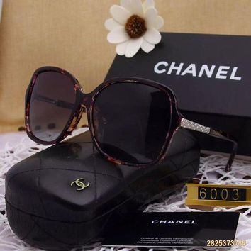 DCCKU62 Original Chanel Fashion New Design Polarized Lenses Sunglasses 6003 - 151