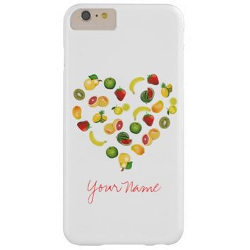 I love Fruits Barely There iPhone 6 Plus Case